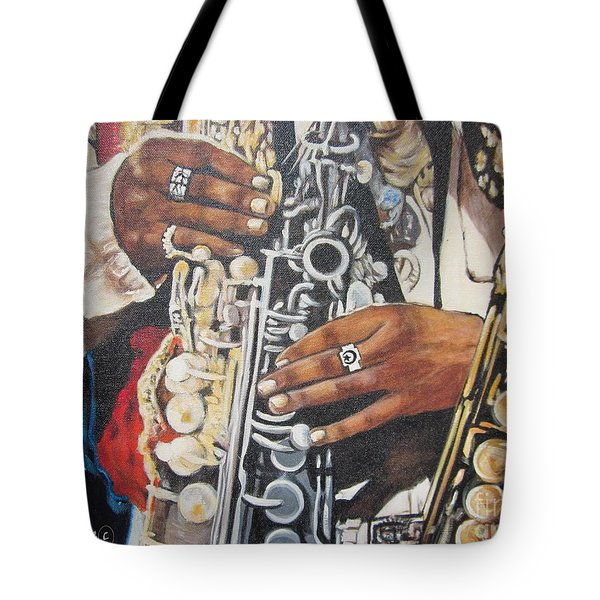 Blaa Kattproduksjoner        Hands Of Music - 2 Tote Bag