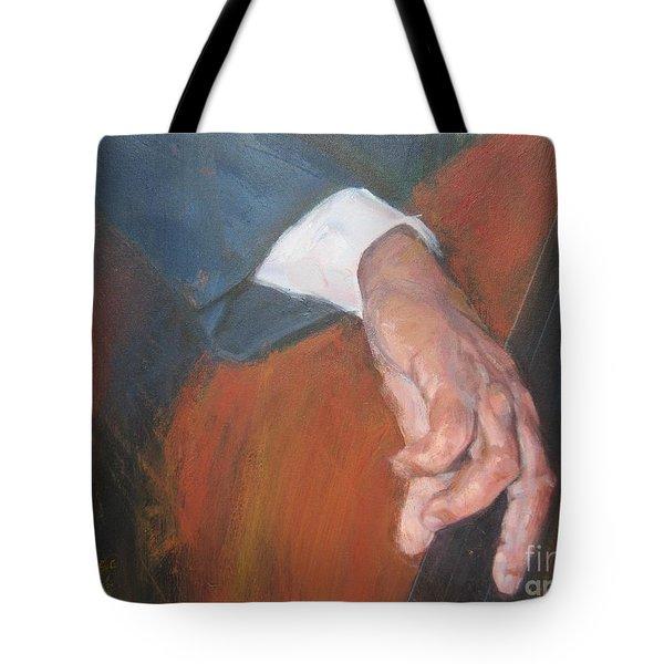 Blaa Kattproduksjoner          Hands Of Deep Sound Tote Bag