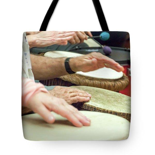 Hands Together - Tote Bag