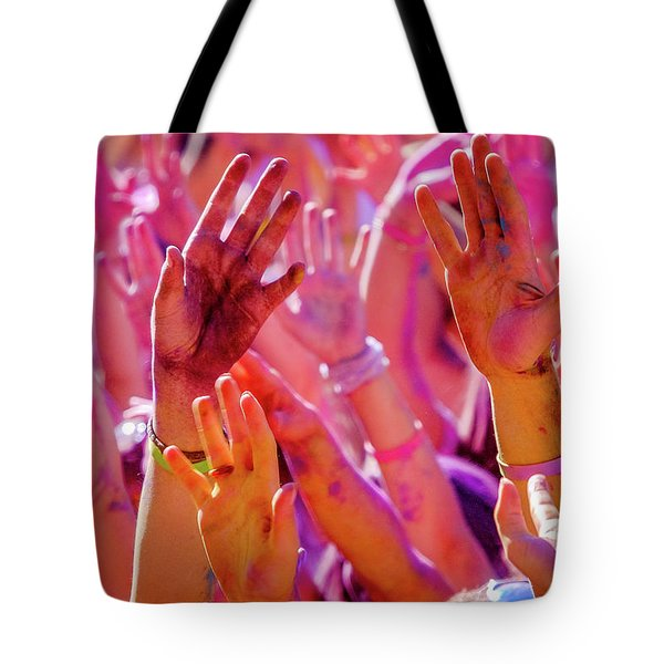 Hands Up-2 Tote Bag