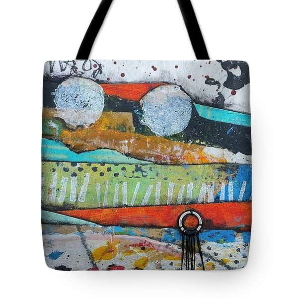 Hands Up In The Sky Tote Bag