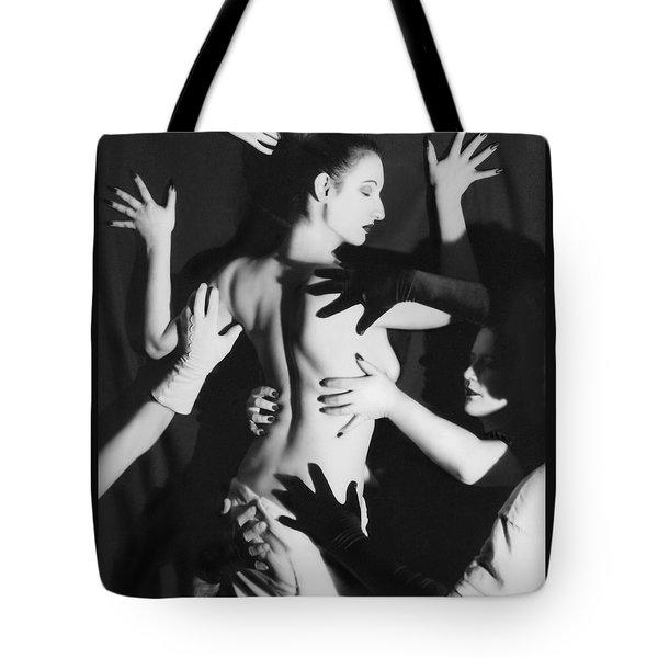 Hands Upon Me Tote Bag by Jaeda DeWalt