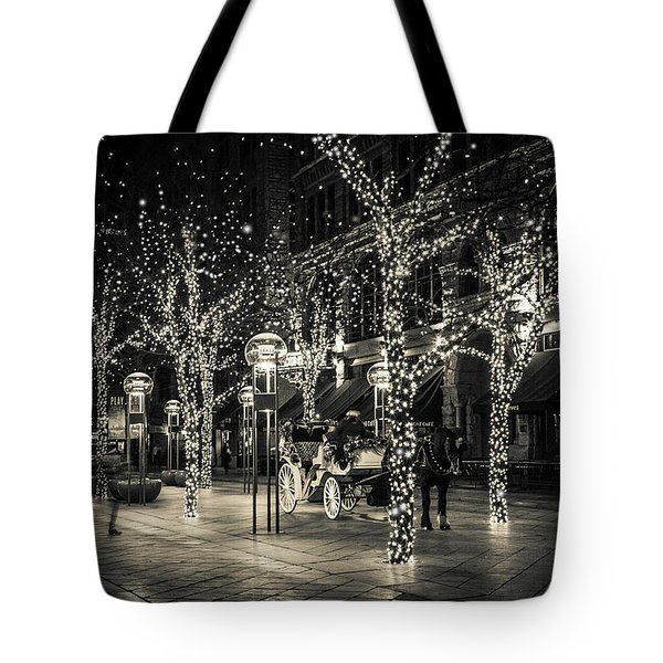 Handsome Cab In Monochrome Tote Bag