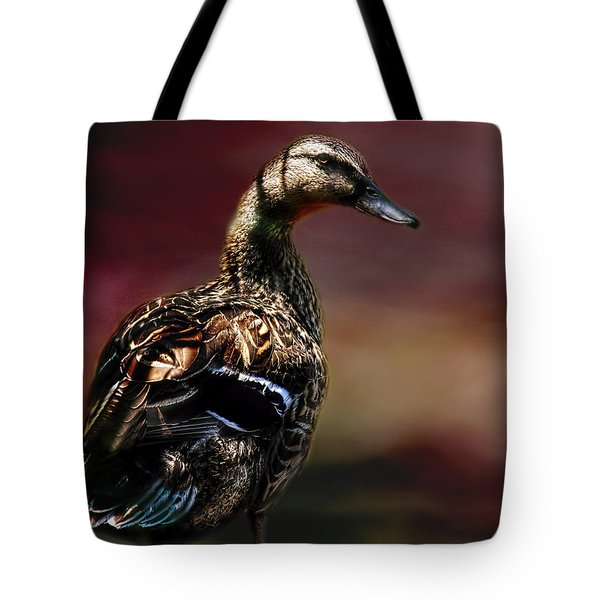 Handsome Duck Tote Bag