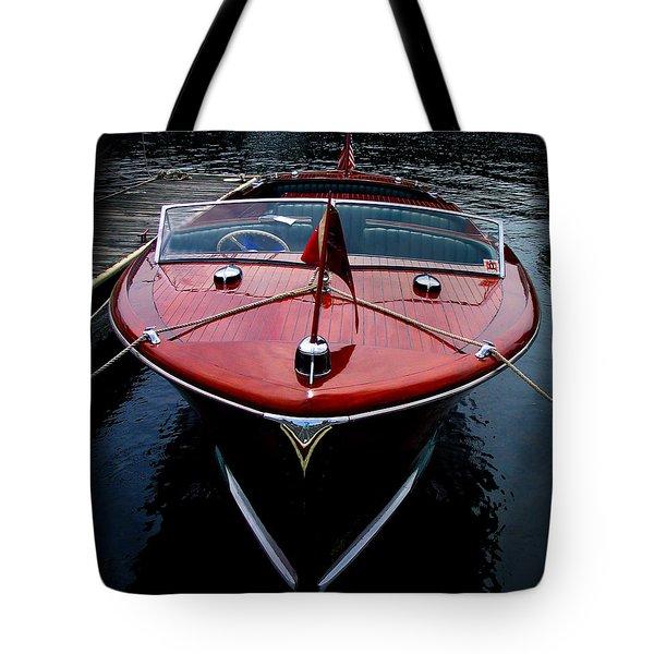 Handsome Wooden Boat Tote Bag