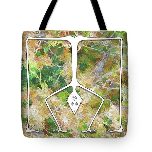 Handstand Tote Bag