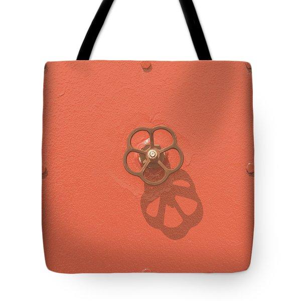 Handwheel - Orange Tote Bag