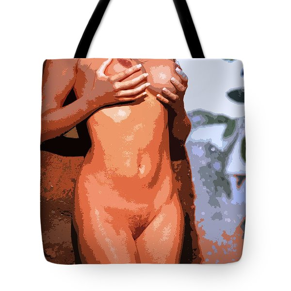 Handz Up Tote Bag
