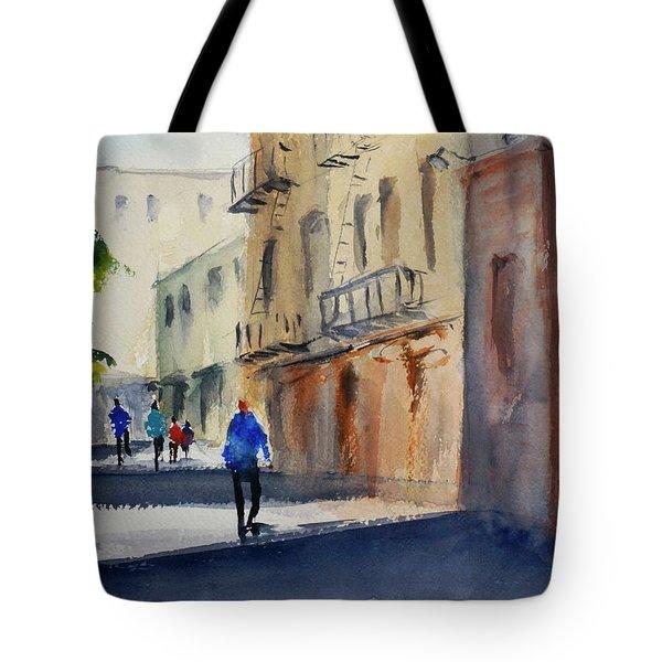 Hang Ah Alley Tote Bag