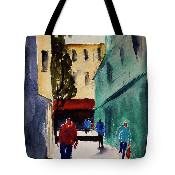 Hang Ah Alley1 Tote Bag