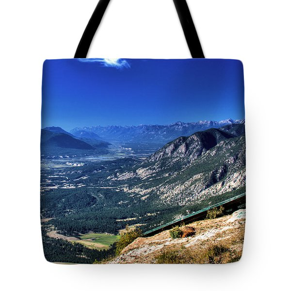 Hang Gliders Point Of View Tote Bag