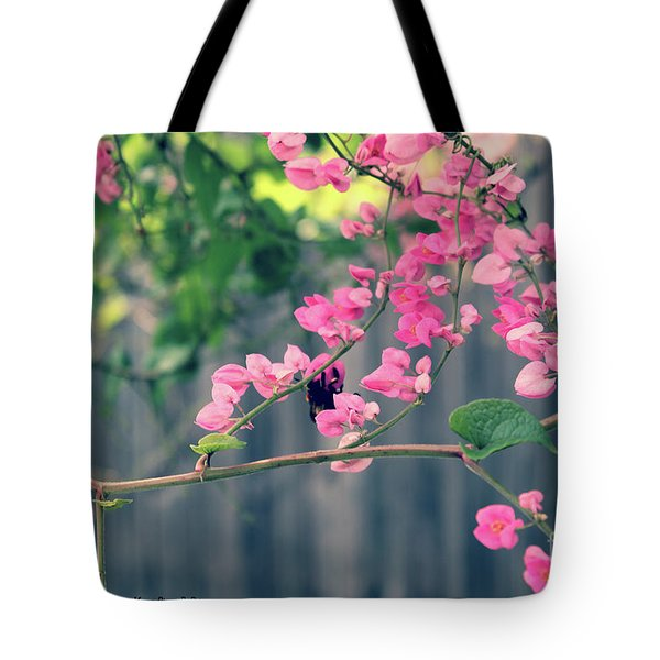 Tote Bag featuring the photograph Hang On by Megan Dirsa-DuBois