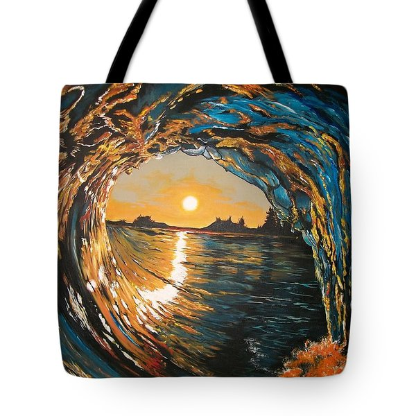 Hang Ten In Tofino Tote Bag