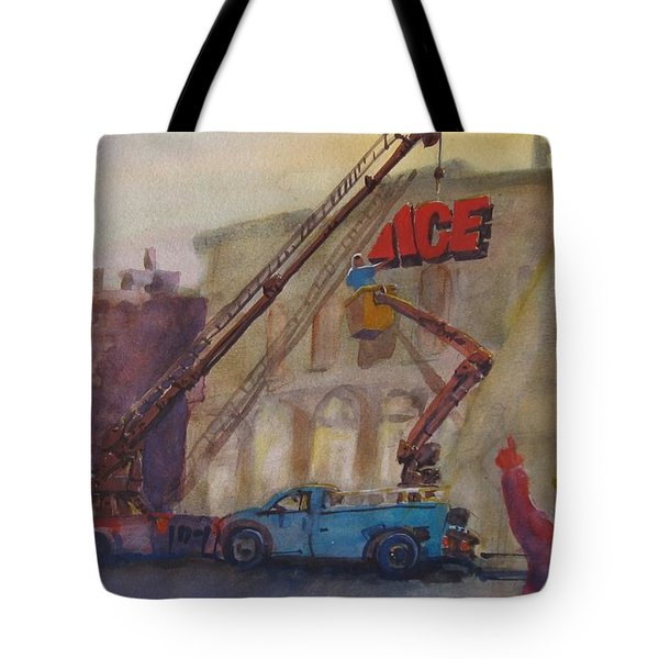 Hanging Ace #1 Tote Bag