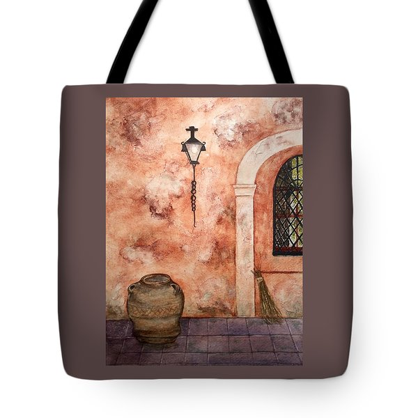 Hanging Around Tote Bag by Bonnie Rabert