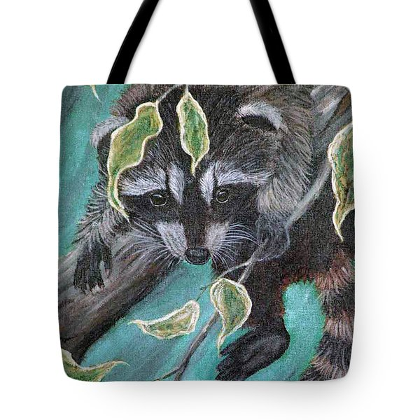 Hanging Around Tote Bag by Nick Gustafson