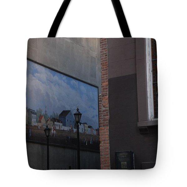 Hanging Art In N Y C  Tote Bag by Rob Hans