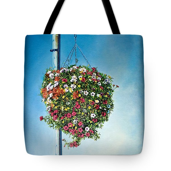 Hanging Basket Tote Bag