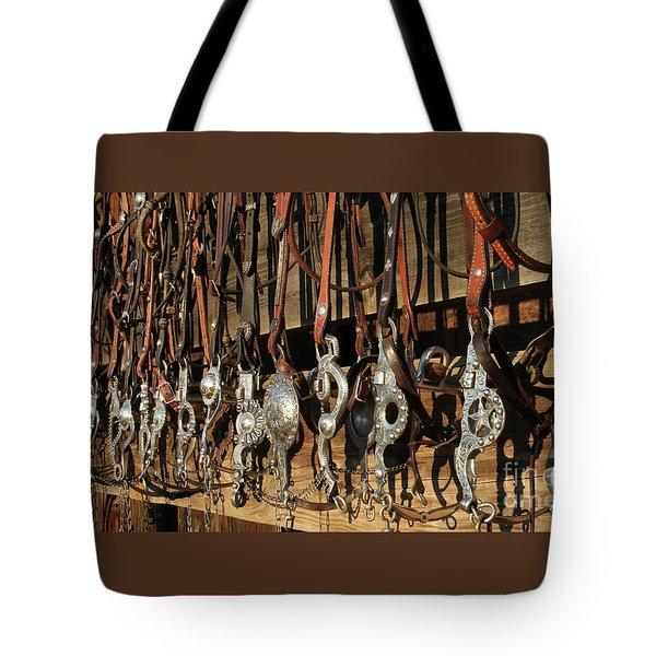 Hanging Bits Tote Bag