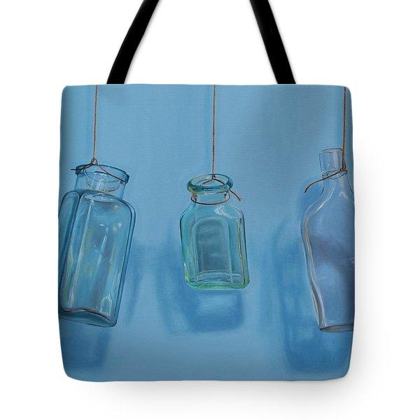 Hanging Bottles Tote Bag