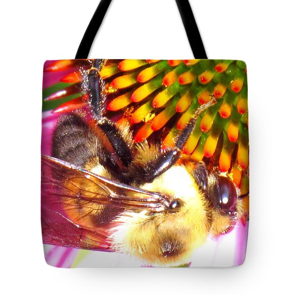Hanging In There Tote Bag by Ian  MacDonald