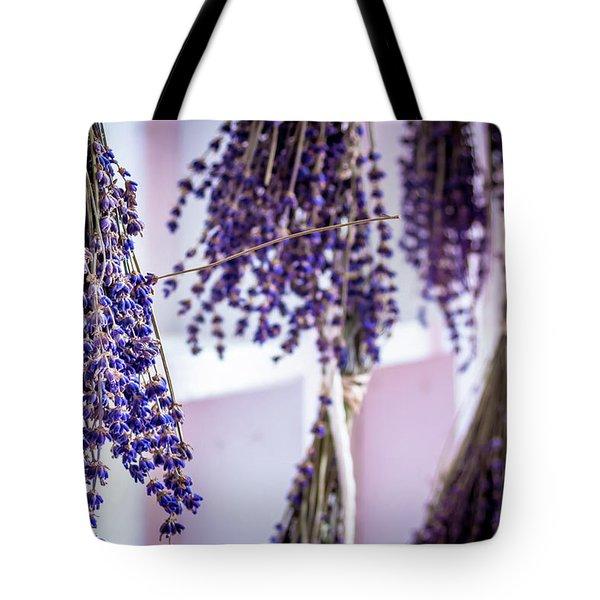 Hanging Lavender Tote Bag