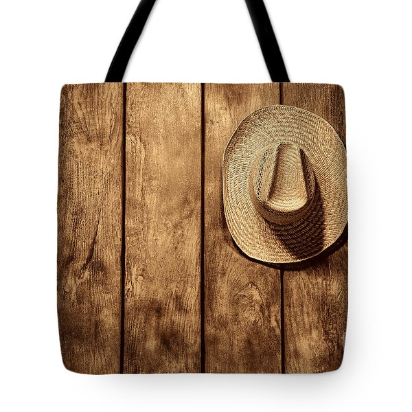 Hanging My Hat Tote Bag