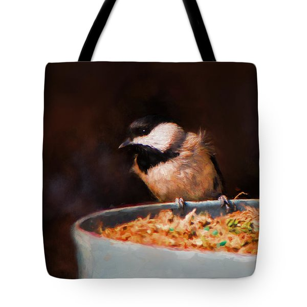 Hanging On The Edge Tote Bag by Jai Johnson