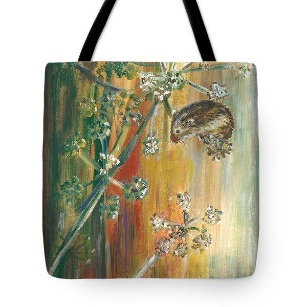 Hanging On - Painting Tote Bag by Veronica Rickard