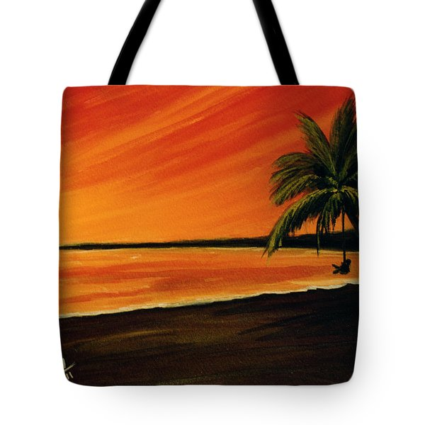 Hanging Out At The Beach #153 Tote Bag by Donald k Hall