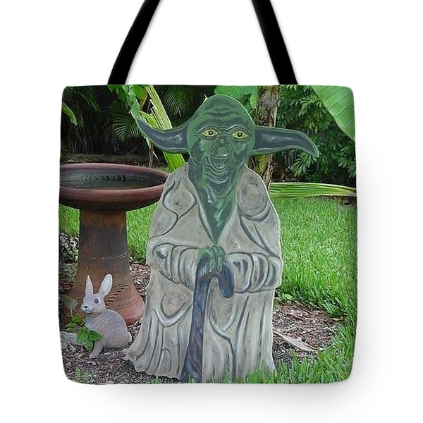 Hanging Out In The Garden Tote Bag by Val Oconnor