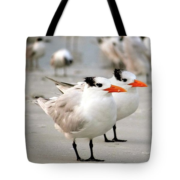 Hanging Out On The Beach Tote Bag