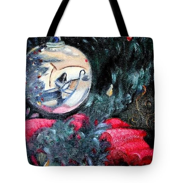 Hanging Out On The Tree Tote Bag by Lisa Stanley