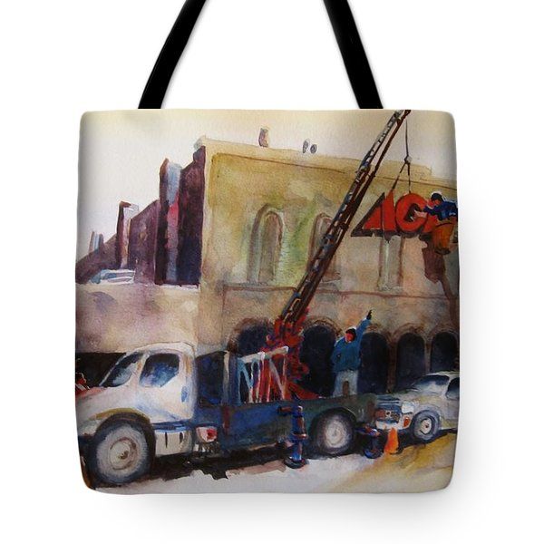 Hanging Red Ace #2 Tote Bag