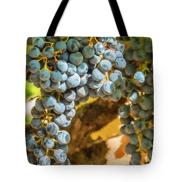 Hanging Wine Tote Bag
