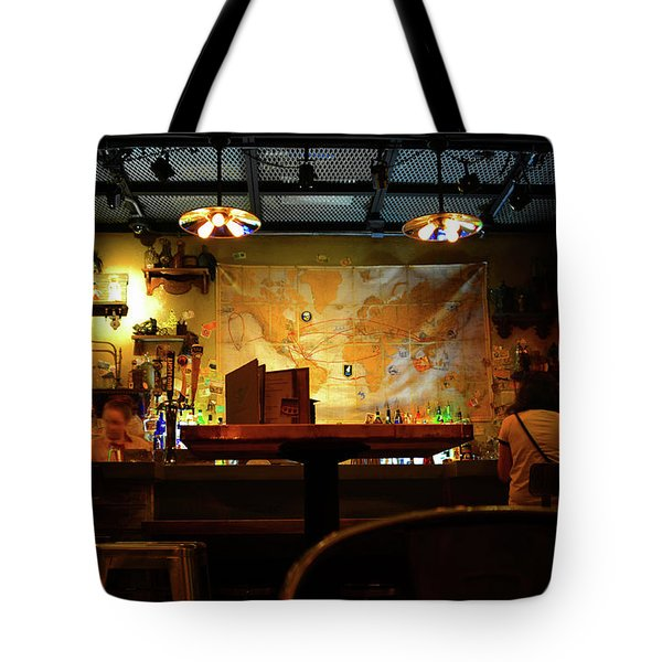 Tote Bag featuring the photograph Hanging With Jock by David Lee Thompson