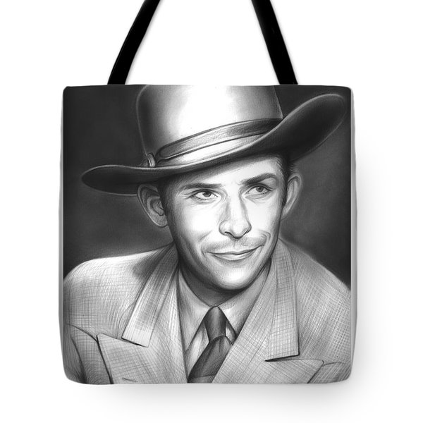 Hank Williams Tote Bag