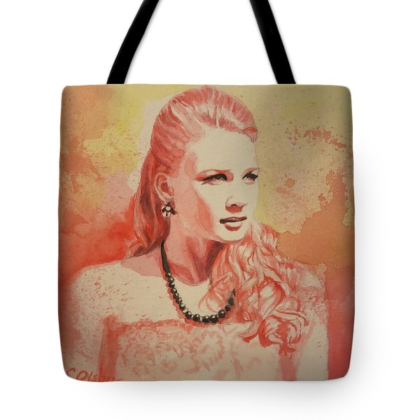 Hannah, Study In Red Tote Bag