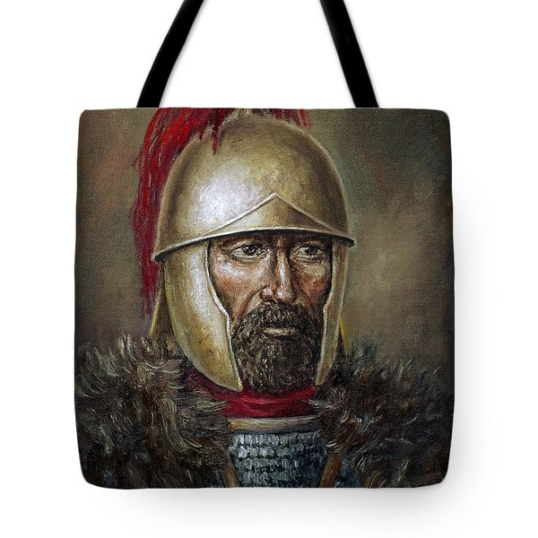 Hannibal Barca Tote Bag by Arturas Slapsys