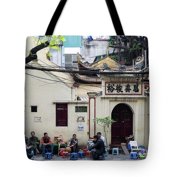 Hanoi Old Quarter 1 Tote Bag