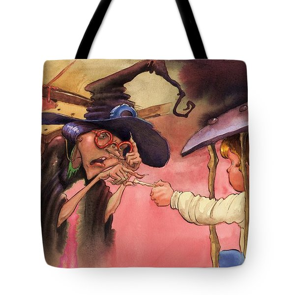 Hansel And Gretel Tote Bag by Andy Catling