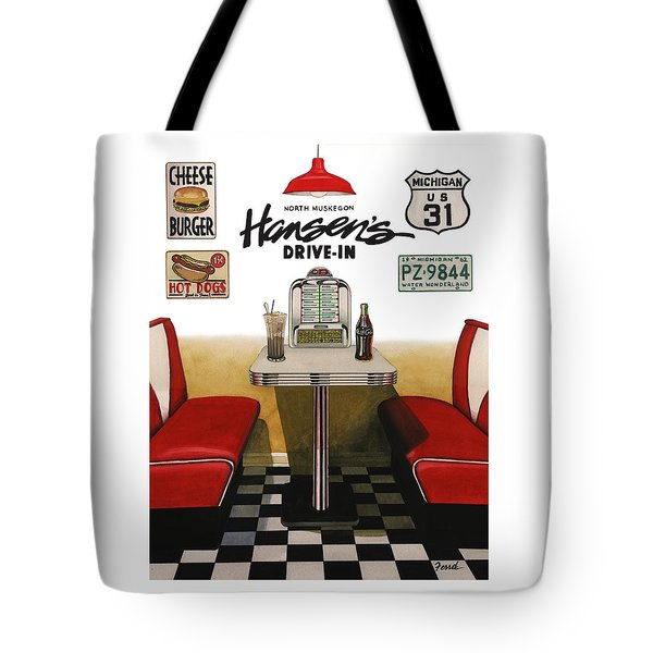 Hansen's Drive-in Tote Bag