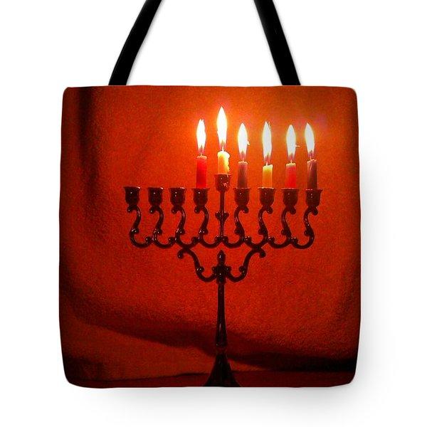 Hanukkah On Fifth Day Tote Bag