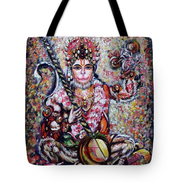 Hanuman - Ecstatic Joy In Rama Kirtan Tote Bag