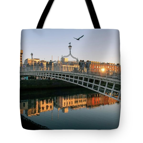Ha'penny Bridge Tote Bag