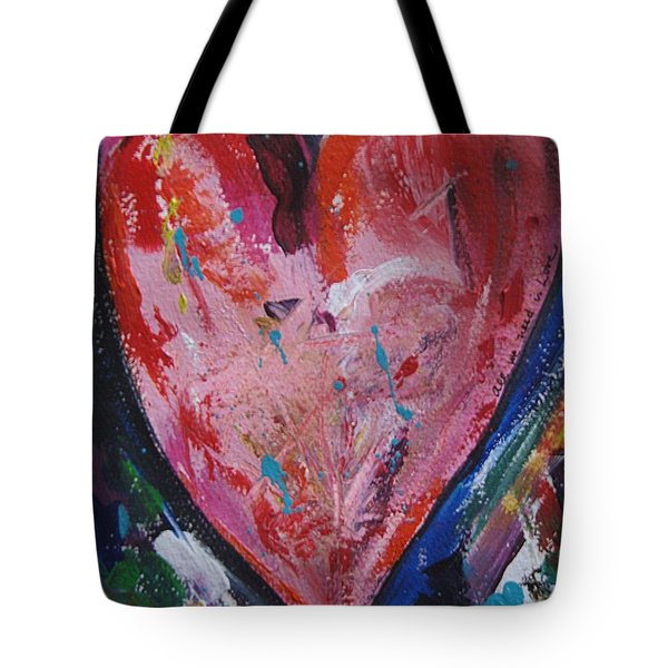 Happiness Tote Bag by Diana Bursztein