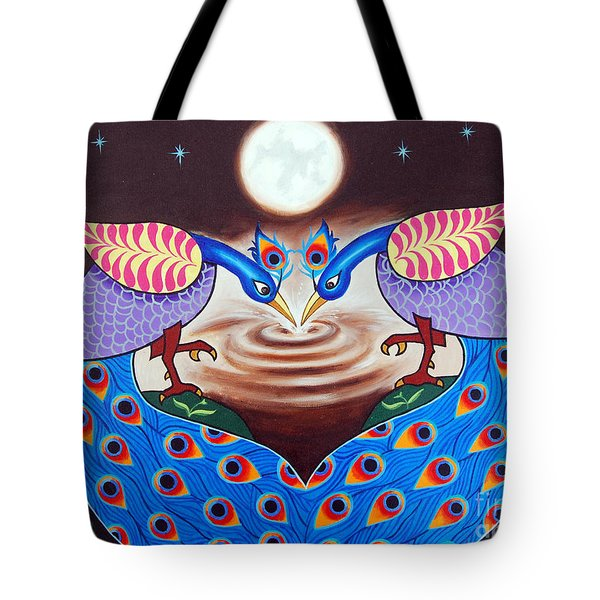 Happiness In Sharing Tote Bag by Ragunath Venkatraman