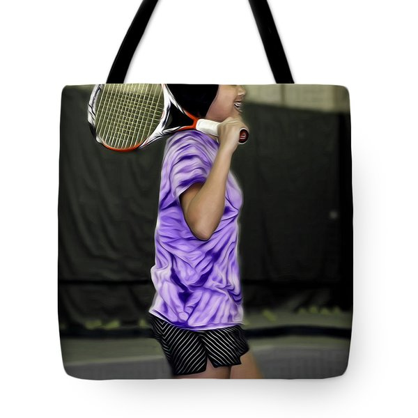 Happiness Is A Good Racket Tote Bag