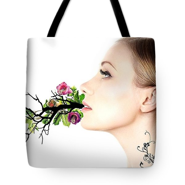 Happiness Is A State Of Mind Tote Bag by Paulo Zerbato