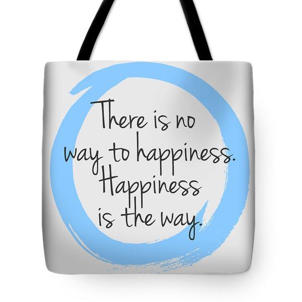 Tote Bag featuring the digital art Happiness by Julie Niemela